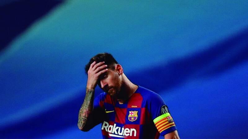 Tablero deportivo - El F.C. Barcelona se da un batacazo histórico en la Champions - Escuchar ahora