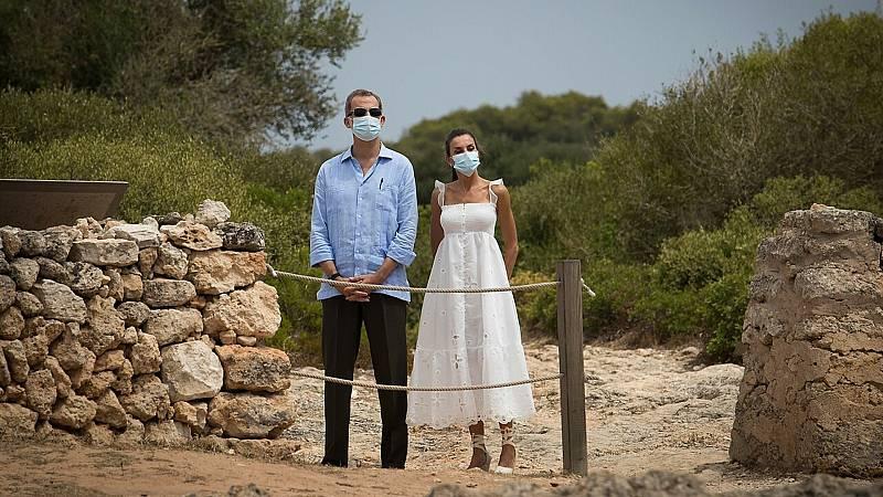 24 horas fin de semana - 20 horas - La Familia real pone fin a sus vacaciones en Ibiza con un recorrido por la necrópolis - Escuchar ahora