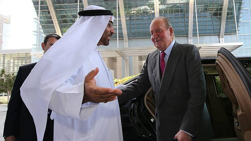 14 horas - Juan Carlos I está en Emiratos Árabes Unidos desde el 3 de agosto - Escuchar ahora