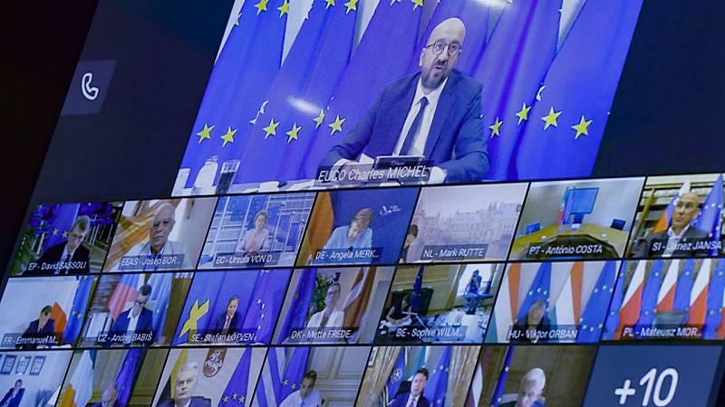 14 horas - La UE estudia sanciones que no afecten al pueblo de Bielorrusia - Escuchar ahora