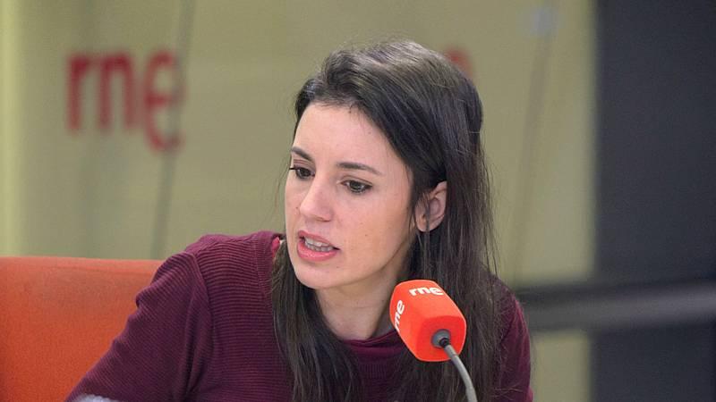 """Las mañanas de RNE con Íñigo Alfonso - Irene Montero: """"El Gobierno tiene que ser sensible al debate social sobre la utilidad de la monarquía"""" - Escuchar ahora"""