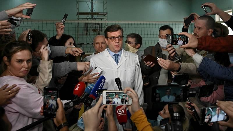 Las mañanas de RNE con Íñigo Alfonso - Los médicos rusos se niegan a trasladar a Alemania al opositor Navalny - Escuchar ahora