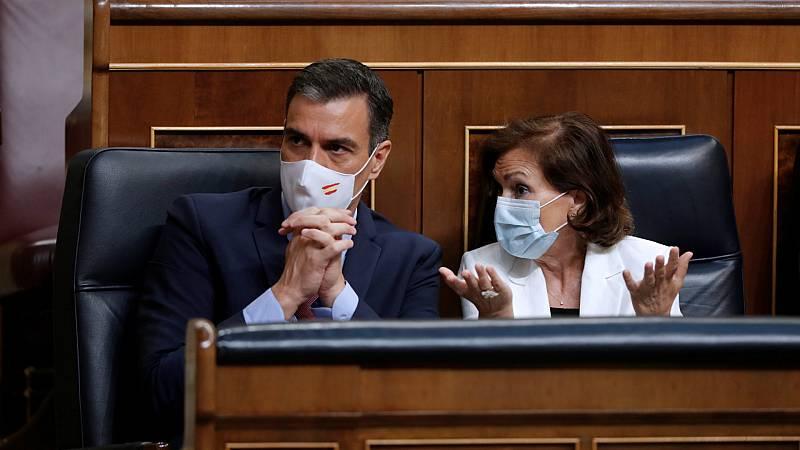 14 horas - El Congreso rechaza que Sánchez y Calvo comparezcan para explicar la marcha de España de Juan Carlos I - Escuchar ahora