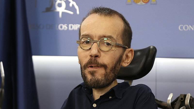 """Las mañanas de RNE con Íñigo Alfonso - Echenique dice que la imputación de Podemos es una maniobra de desestabilización: """"No debemos dejar que nos distraigan los bulos"""" - Escuchar ahora"""