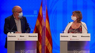 14 horas - Cataluña apuesta por los grupos de convivencia para la vuelta al cole - Escuchar ahora