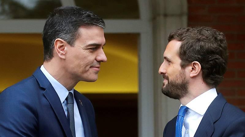 14 horas - Sánchez recibirá a Casado el 2 de septiembre dentro de una nueva ronda de contactos con los grupos - Escuchar ahora