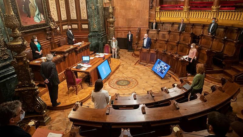 Boletines RNE - El Ayuntamiento de Barcelona retira la Medalla de Oro de la Ciudad a Juan Carlos I - Escuchar ahora