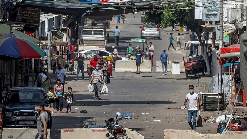 24 horas fin de semana - 20 horas - Las autoridades de la Franja de Gaza alertan del débil sistema sanitario frente al coronavirus - Escuchar ahora