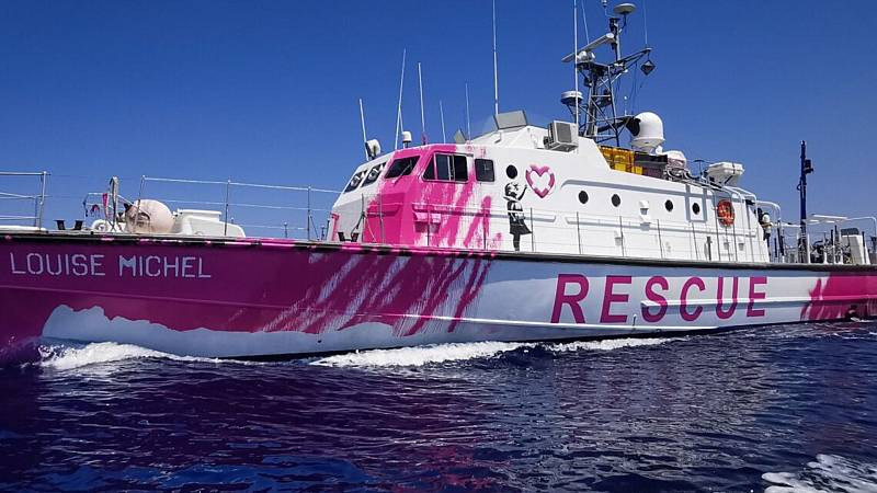 24 horas fin de semana - 20 horas - Italia rescata a los 49 migrantes más vulnerables del barco humanitario de Banksy - Escuchar ahora