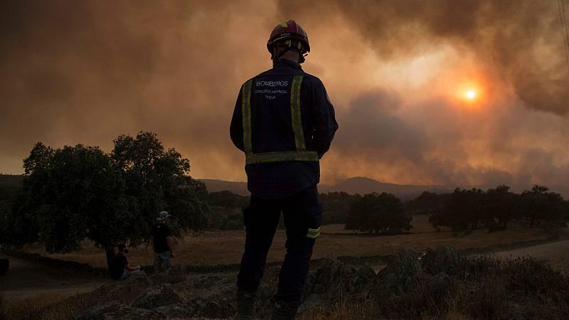 14 horas - Estabilizado el incendio de Almonaster la Real (Huelva) - Escuchar ahora