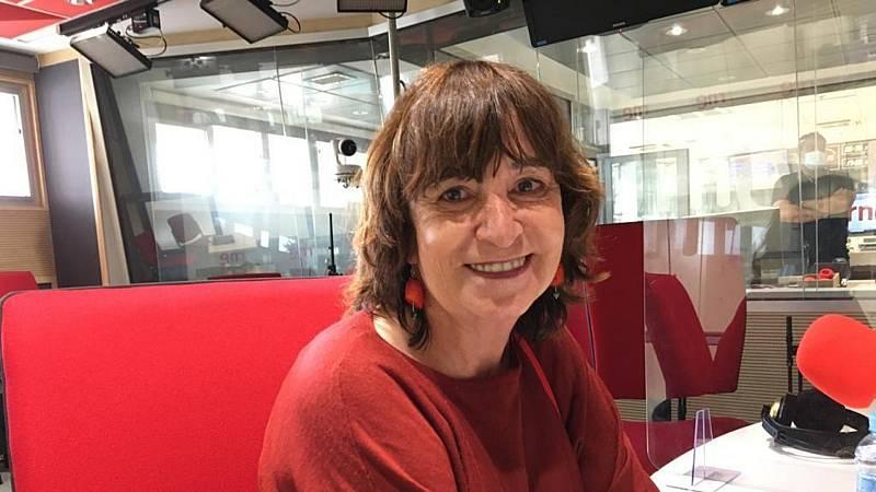 """Las mañanas de RNE con Pepa Fernández - Rosa Montero: """"Los seres humanos somos animales tenaces, nuestra capacidad para sobrevivir es inacabable"""""""