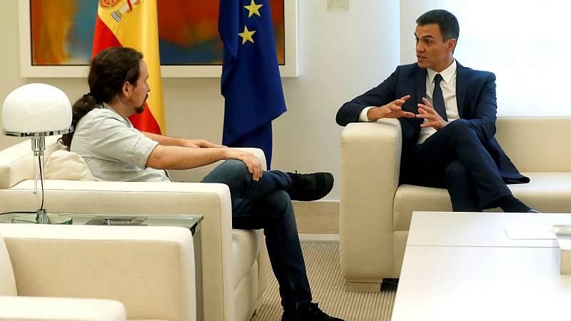 14 horas - PSOE y Unidas Podemos se reúnen para comenzar a negociar los Presupuestos - Escuchar ahora
