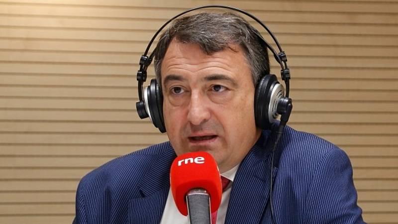 """24 horas - Esteban (PNV) apuesta por la mayoría de la investidura para los presupuestos: """"Es lo más natural"""" - Escuchar ahora"""