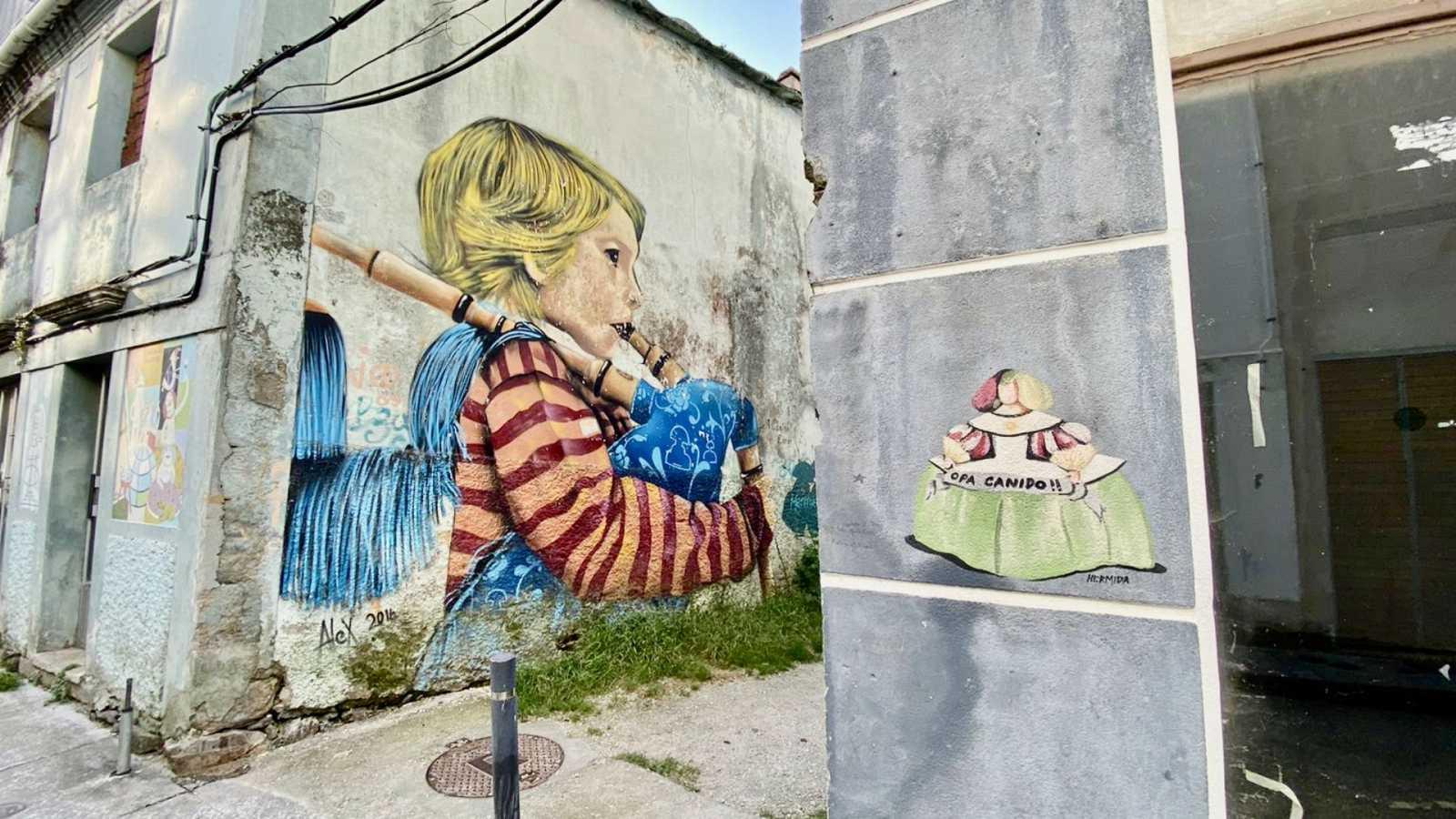 Global 5 - Arte Urbano A Corun¿a (II): Meninas de Canido 2020 - 03/09/20 - escuchar ahora
