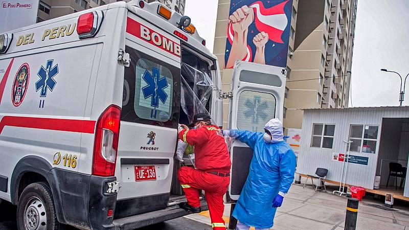 Reportajes 5 Continentes - La difícil lucha contra el coronavirus en Perú - Escuchar ahora