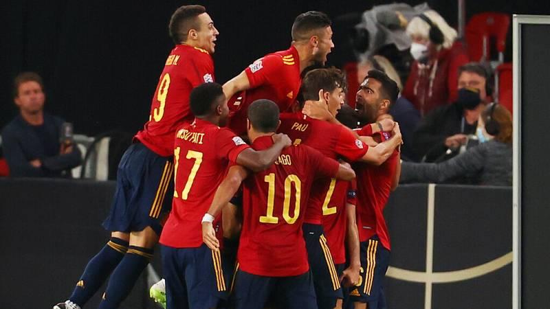 Tablero deportivo - España empata a 1 frente a Alemania gracias a Gayá - Escuchar ahora