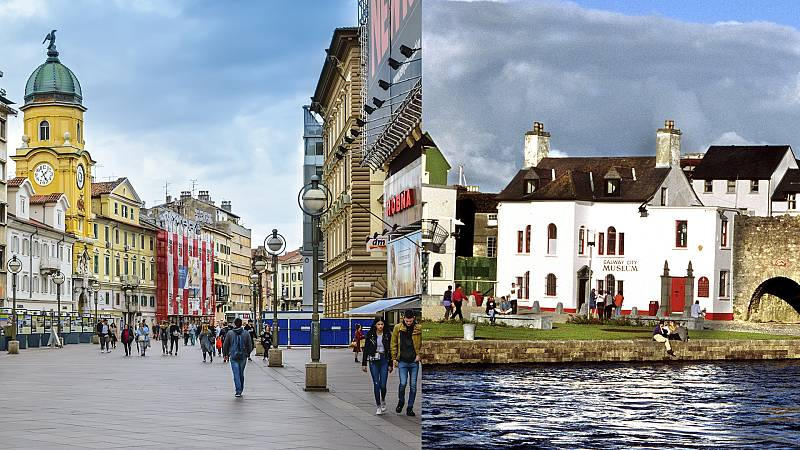 Europa abierta - Rijeka y Galway seguirán siendo Capitales en la Cultura en 2021 - escuchar ahora