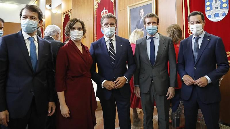 24 horas fin de semana - 20 horas - Núñez Feijóo emoción por su cuarto mandato y apelación a la cogobernanza para vencer el coronavirus - Escuchar ahora