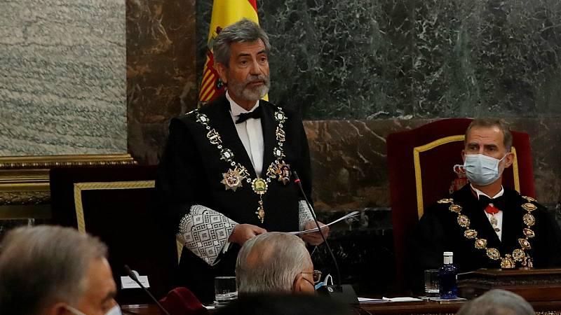 """14 horas - Lesmes pide a los partidos que renueven ya el CGPJ para acabar con una """"seria anomalía"""" - Escuchar ahora"""