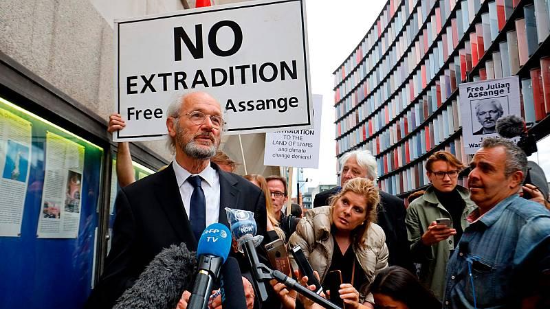 Cinco continentes - Caso Assange: reanudado el juicio de extradición - Escuchar ahora