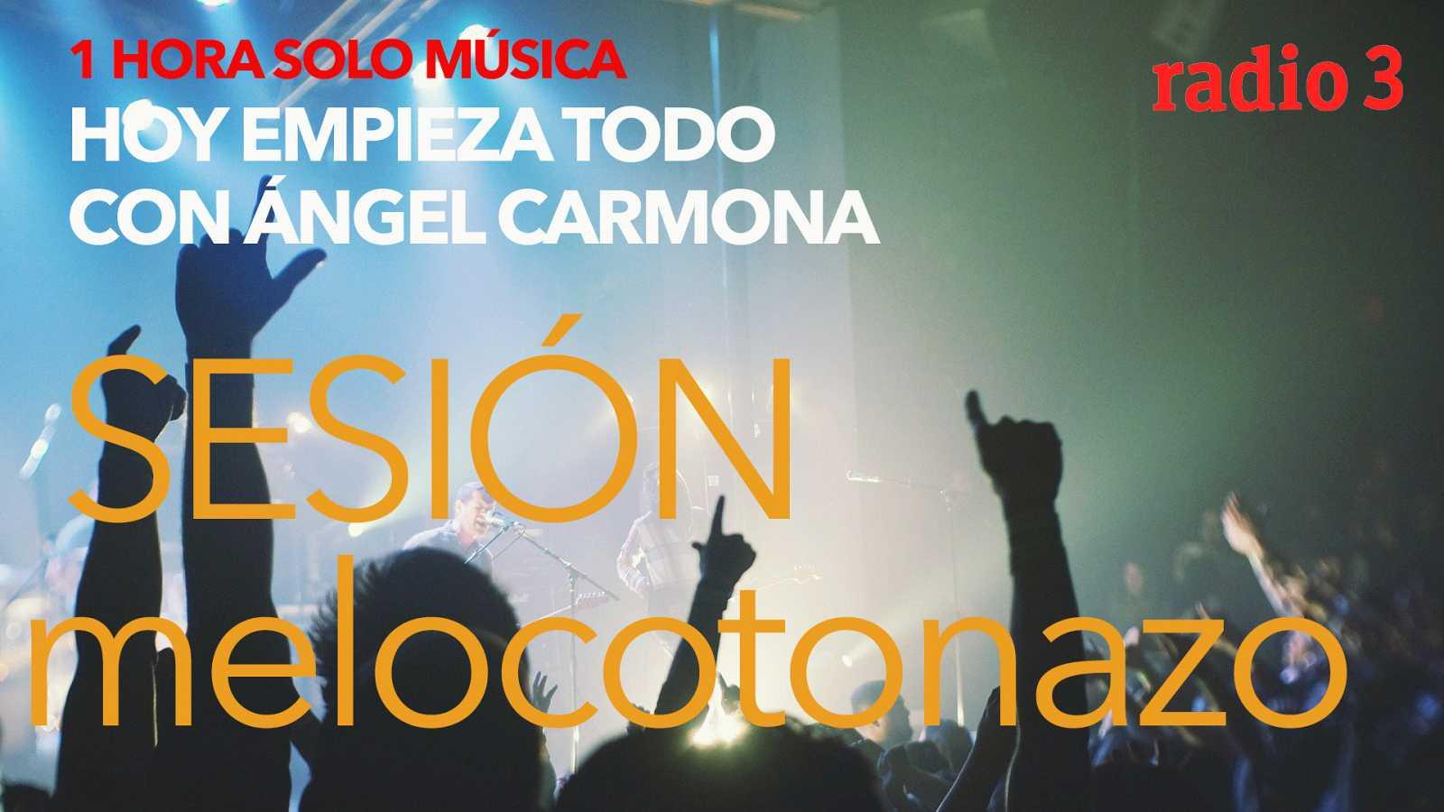 """Hoy empieza todo con Ángel Carmona - """"Sesión Melocotonazo"""": Andrés Calamaro, Lorde... - 08/09/20 - escuchar ahora"""