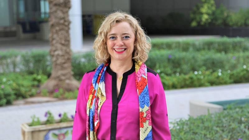 Punto de enlace - Lourdes Vega investiga materiales en captación de CO2 en Emiratos Árabes - 08/09/20 - escuchar ahora