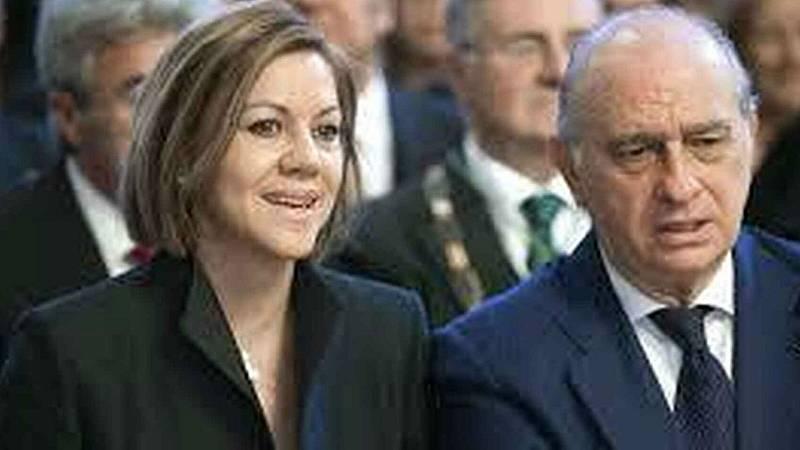 14 horas - El PP pide presunción de inocencia para Fernández Díaz y Cospedal tras el supuesto espionaje a Bárcenas - Escuchar ahora