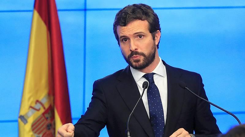 "14 horas - Casado se desvincula del caso Kitchen: ""Yo solo era un diputado por Ávila"" - Escuchar ahora"
