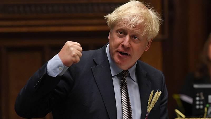 Boletines RNE - Reino Unido limita las reuniones a seis personas - Escuchar ahora