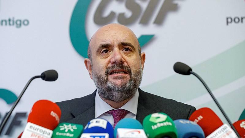 """24 horas - CSIF: """"Congelar los sueldos públicos es una falta de respeto"""" - Escuchar ahora"""