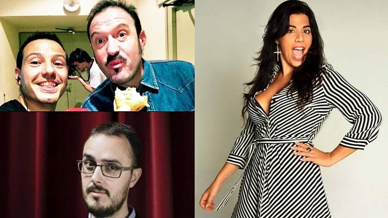 La sala - Los cómicos andaluces de Jorge García Palomo: Álex O'Dogherty, Patricia Galván y Diego Arjona - 06/09/20 - Escuchar ahora