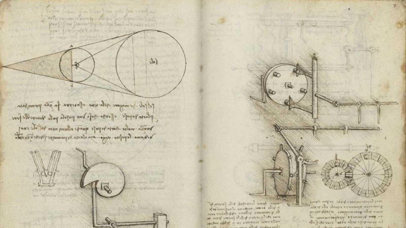 Preguntas a la Historia - ¿Qué son los códices Madrid de Leonardo da Vinci? - 11/09/20 - Escuchar ahora