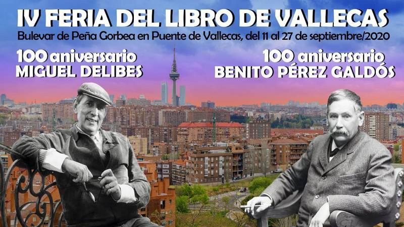 Punto de enlace - Madrid inaugura la IV Feria del Libro de Vallecas - 11/09/20 - escuchar ahora