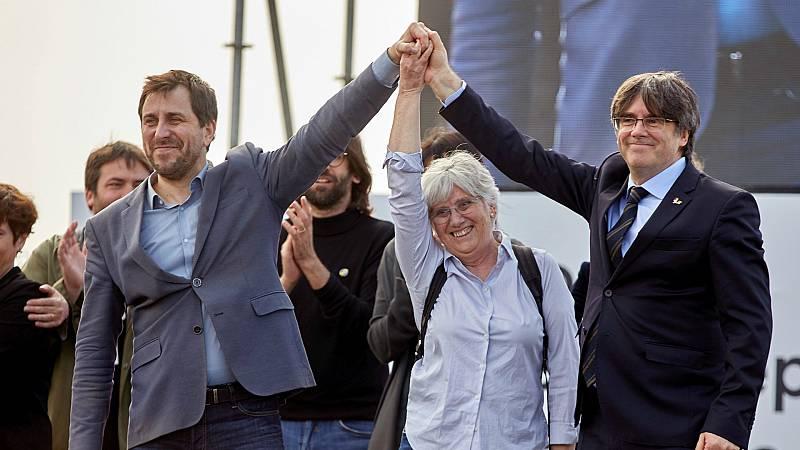 14 horas - El Constitucional mantiene las órdenes de busca y captura contra Puigdemont y Comín - Escuchar ahora