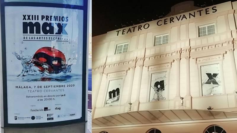XXIII Premios Max de artes escénicas en el Teatro Cervantes de Málaga - escuchar ahora
