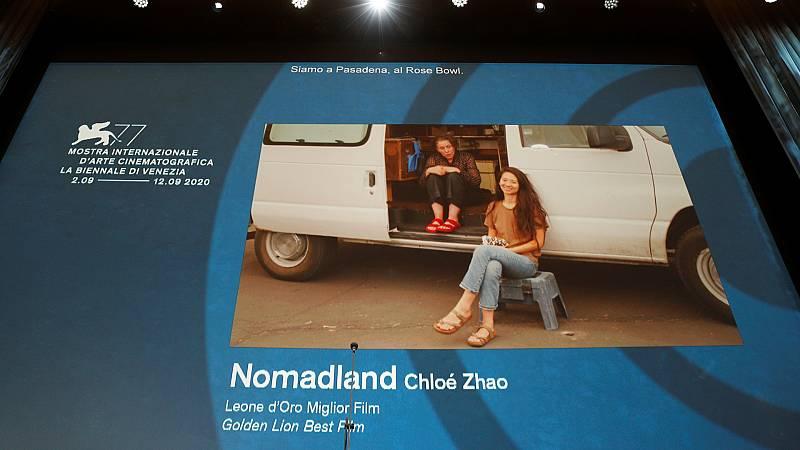 20 horas Fin de Semana - La favorita 'Nomadland' se lleva el León de Oro en la Mostra de Venecia - Escuchar ahora