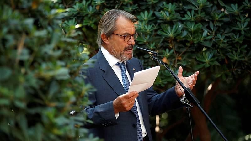 14 horas - Artur Mas se queda en el PDeCAT y rechaza volver a la primera línea política - Escuchar ahora