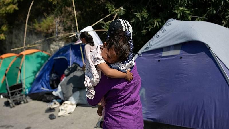 14 horas - El gobierno griego quiere reconstruir el campo de refugiados de Moria - Escuchar ahora