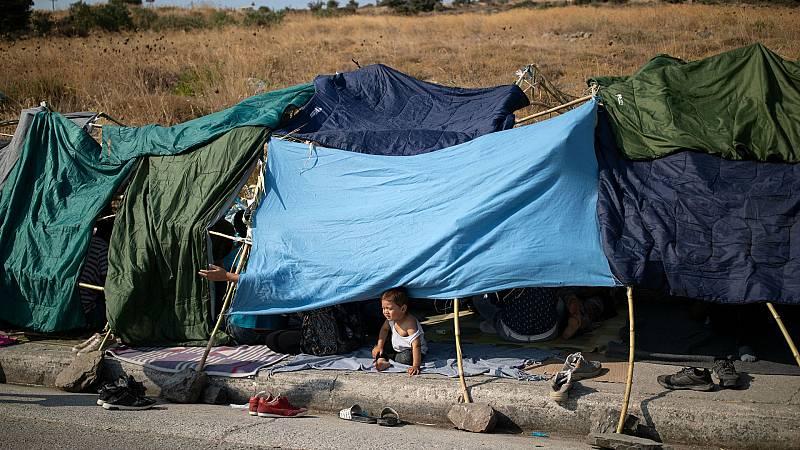 14 horas - El gobierno de Merkel plantea acoger a 1.500 personas del campo de Moria - Escuchar ahora