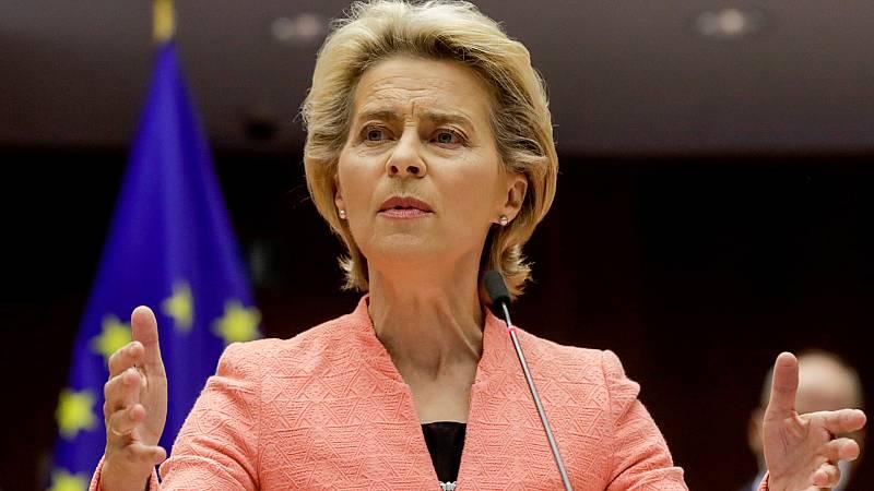 Europa abierta - Buscamos la reacción al discurso de Ursula von der Leyen en el Parlamento Europeo - escuchar ahora