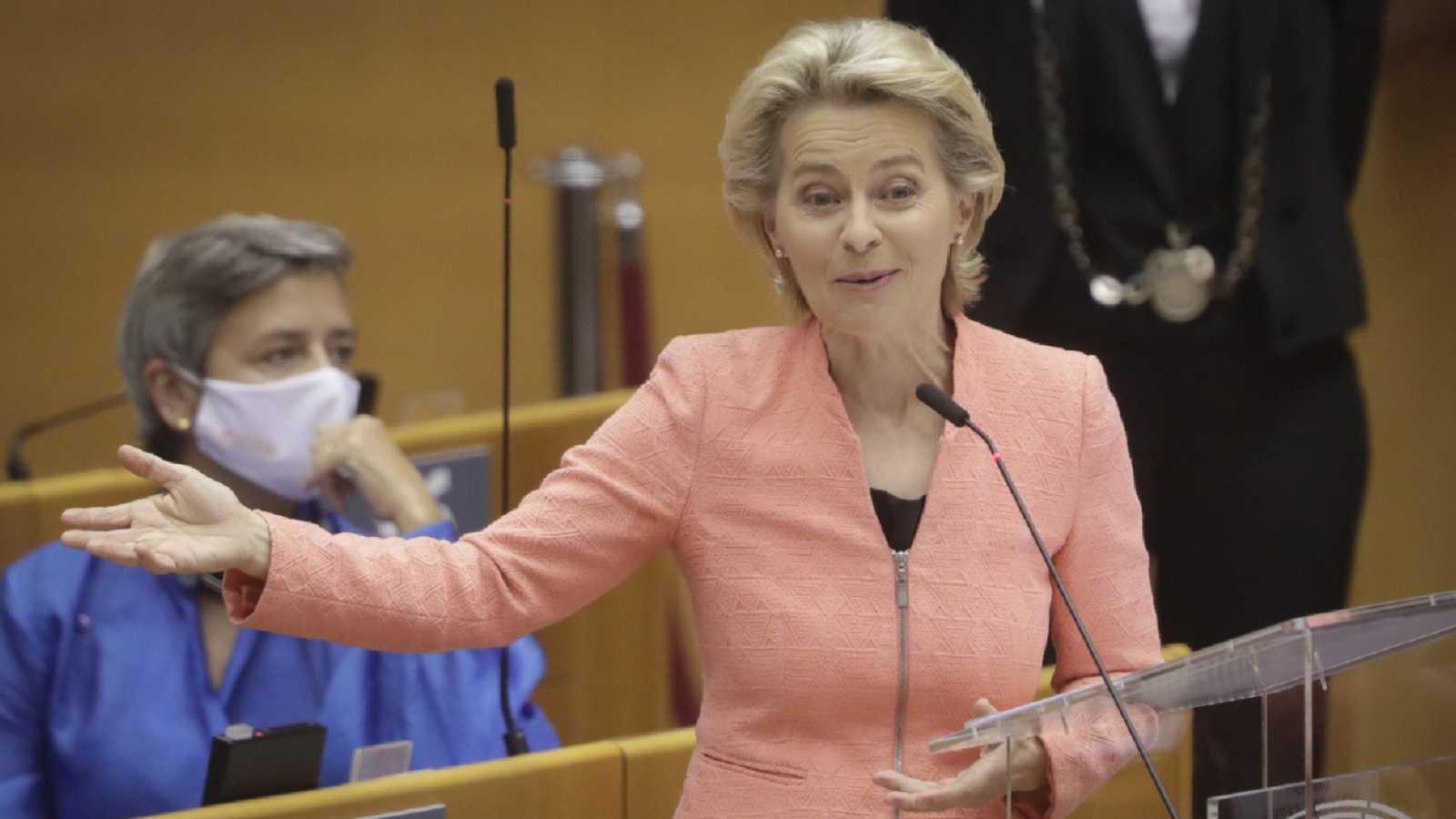 24 horas - Mesa del Mundo: Ursula von der Leyen y el estado de la Unión - Escuchar ahora