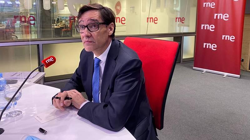 """Las mañanas de RNE - Salvador Illa: """"Hay que hacer lo que haga falta para controlar la situación en Madrid"""" - Escuchar ahora"""