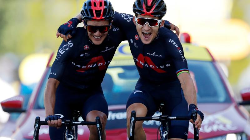 Tour de Francia 2020 - Michal Kwiatkowski vence en la 18ª etapa del Tour - Escuchar ahora