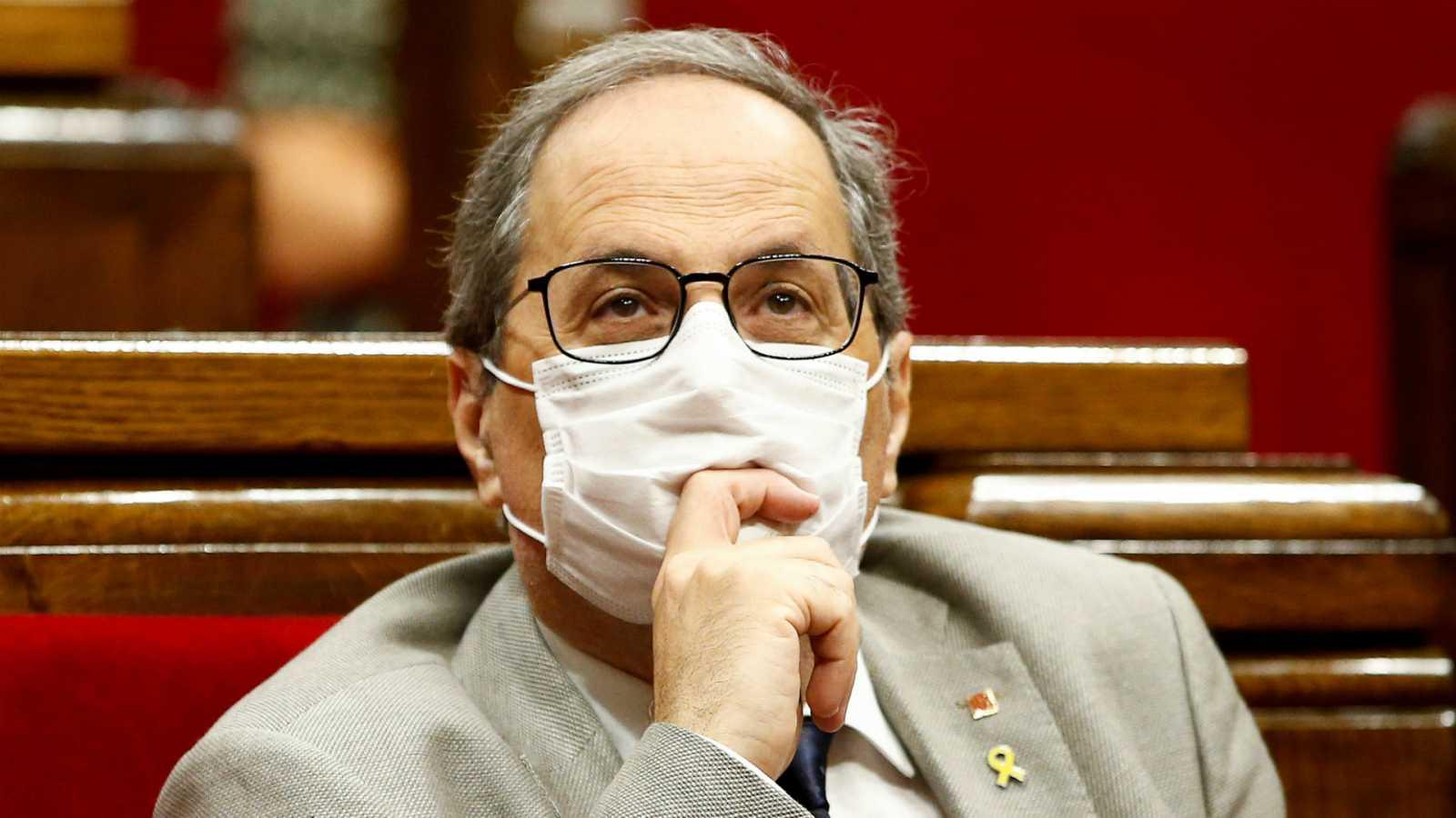 14 horas - El Parlament rechaza acatar la decisión que tome el Supremo sobre la inhabilitación de Torra - Escuchar ahora
