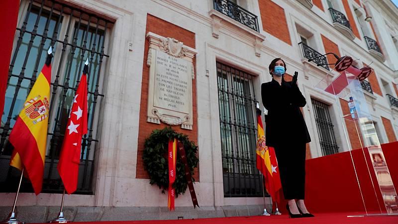 14 horas - Sánchez y Ayuso se reunirán el lunes en la sede de la Comunidad de Madrid - Escuchar ahora