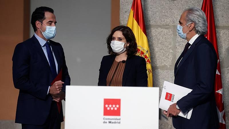 24 horas - La Comunidad de Madrid restringe la movilidad en 37 áreas sanitarias a partir del lunes - Escuchar ahora