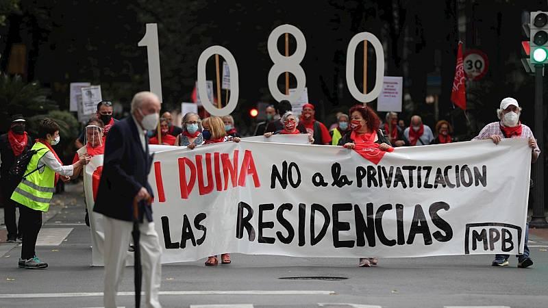 14 horas Fin de Semana - Movilizaciones de pensionistas por un sistema público de residencias para mayores - Escuchar ahora
