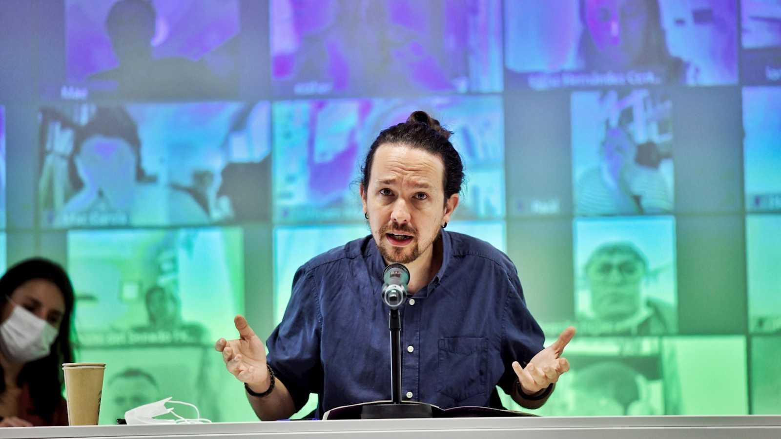 """14 horas Fin de Semana - Iglesias avanza que los presupuestos están cerca pero avisa de que """"no gustarán"""" a Ciudadanos - Escuchar ahora"""