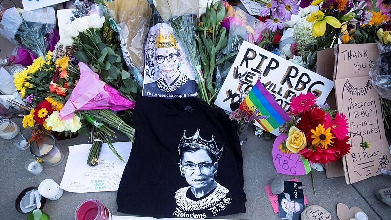 14 horas Fin de Semana - La muerte de Ruth Bader Ginsburg abre un nuevo frente en la lucha presidencial en EEUU - Escuchar ahora
