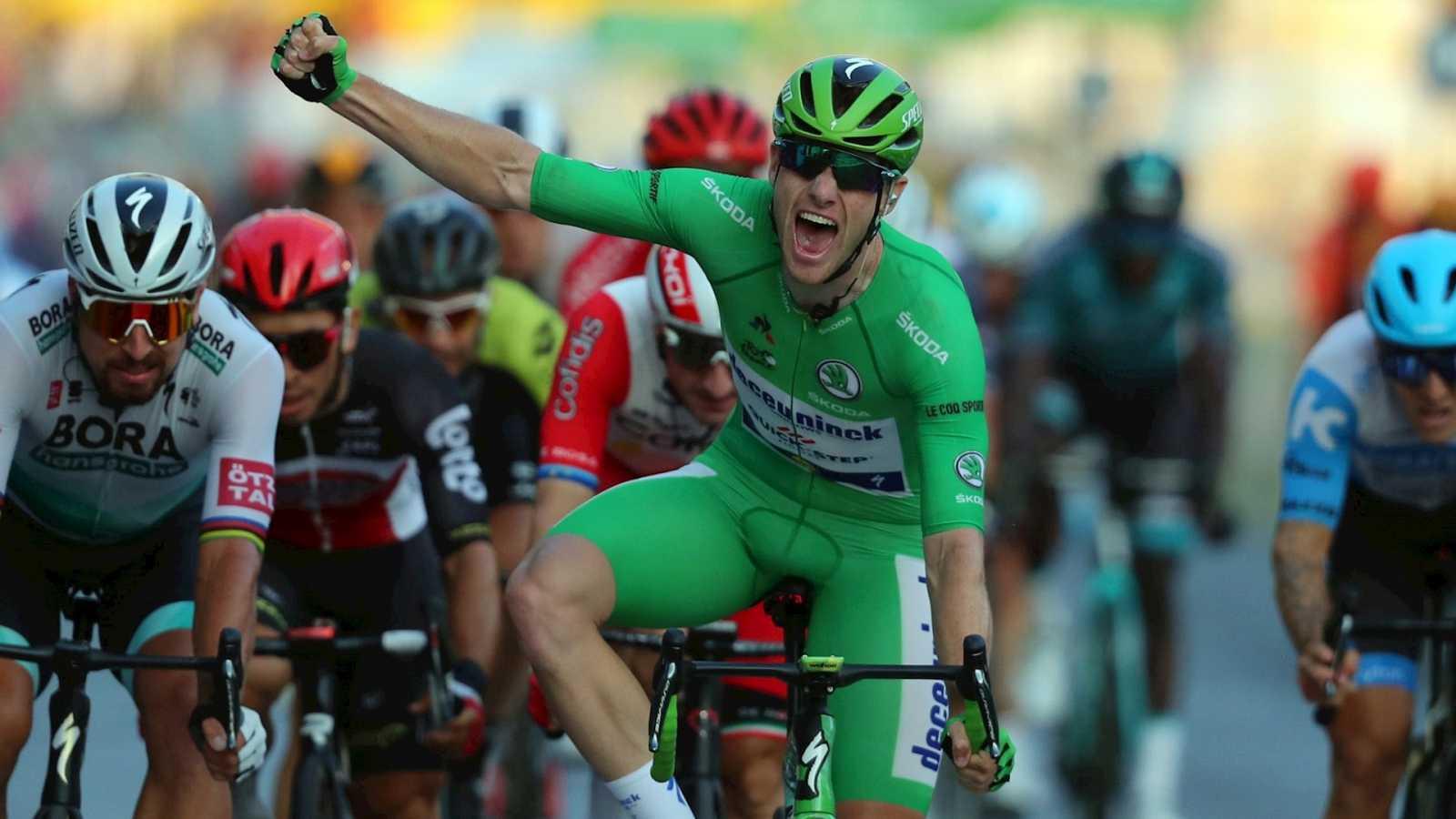 Tour de Francia 2020 - Sam Bennet se hace con la última etapa - Escuchar ahora
